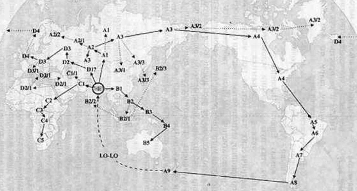 Мулдашев карта миграций