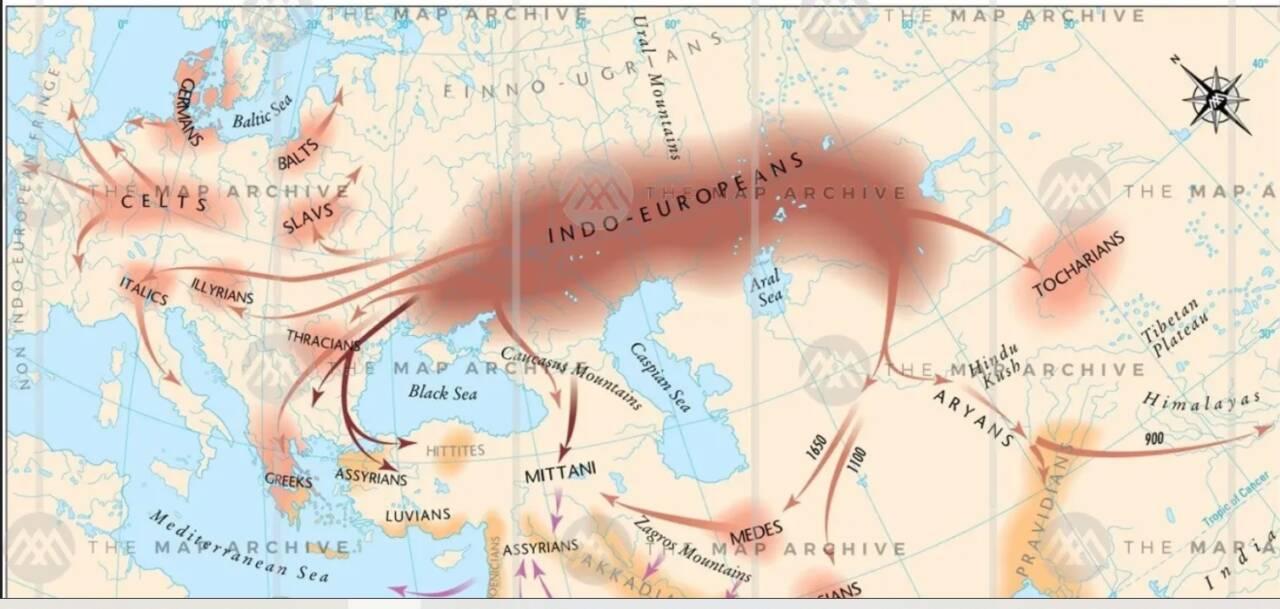 гибридная история индоевропейцев