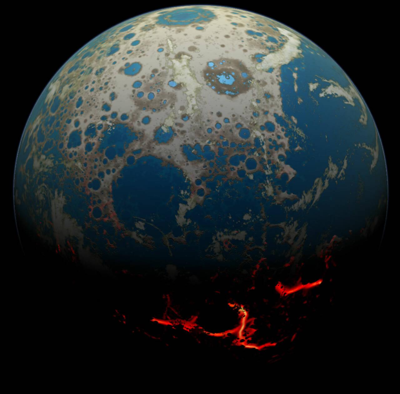 Земля имела атмосферу Марса — и поэтому не станет Венерой