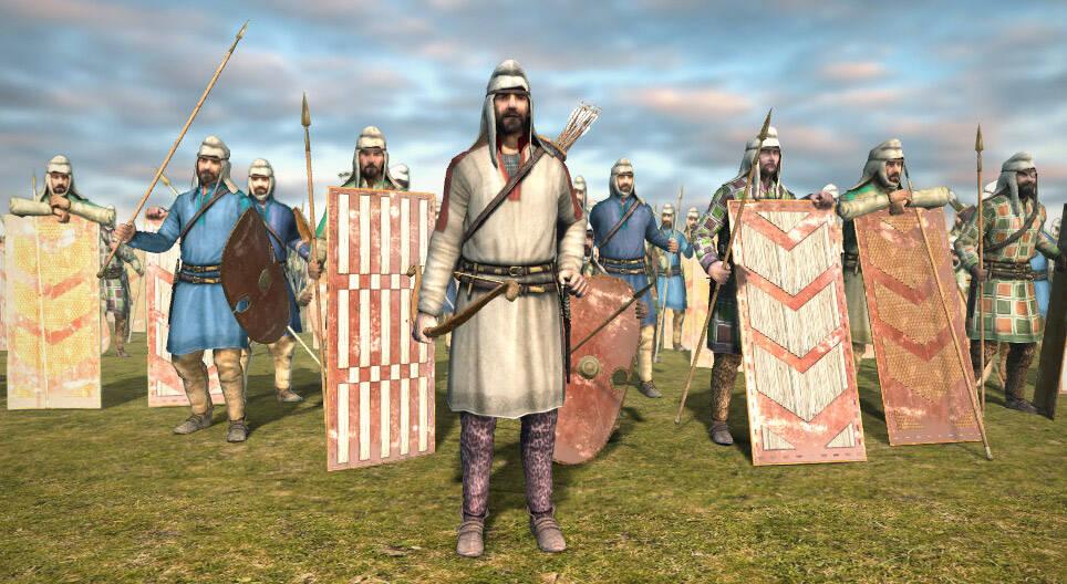 Предположительное обмундирование и вооружение персидской армии 500 г. до н.э.